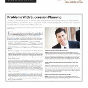 Problems with Succession Planning - GlobeSt.com interview